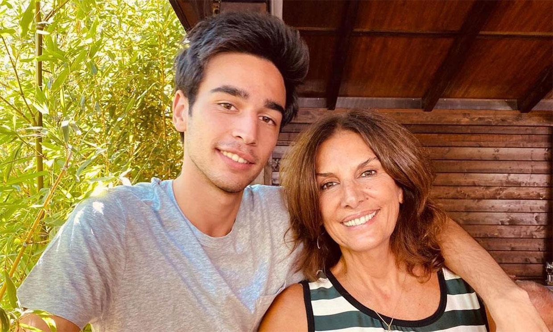 El hijo de Pastora Vega e Imanol Arias recibe una visita muy especial en el rodaje de 'El Internado: Las cumbres'