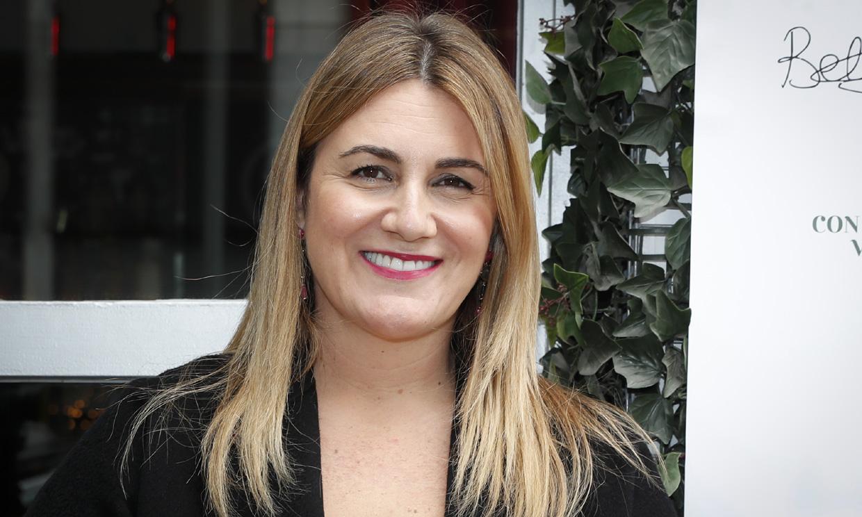 Carlota Corredera celebra 'el día más bonito del año' con una tarta muy original