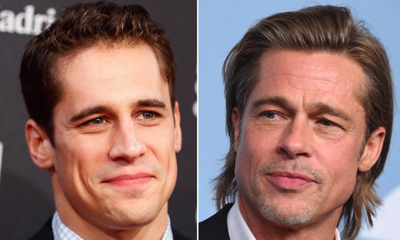 ¡Con faldas y a lo cachas! Martiño Rivas 'copia' a Brad Pitt y saca su parte más divertida con este lookazo