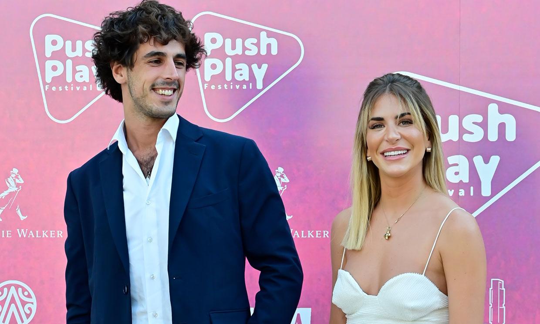 Mar Torres con un amigo y Jorge Bárcenas sin Victoria Federica en la presentación del Push Play Festival