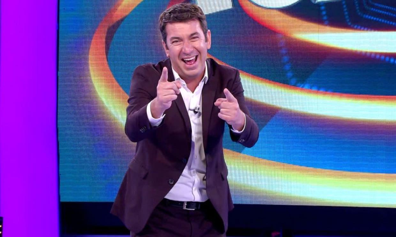 Arturo Valls no pierde el sentido del humor para despedirse de '¡Ahora caigo!'