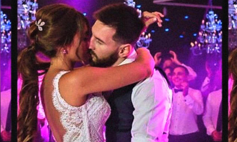 Antonela Roccuzzo comparte un vídeo con imágenes inéditas de su boda con Messi en su cuarto aniversario