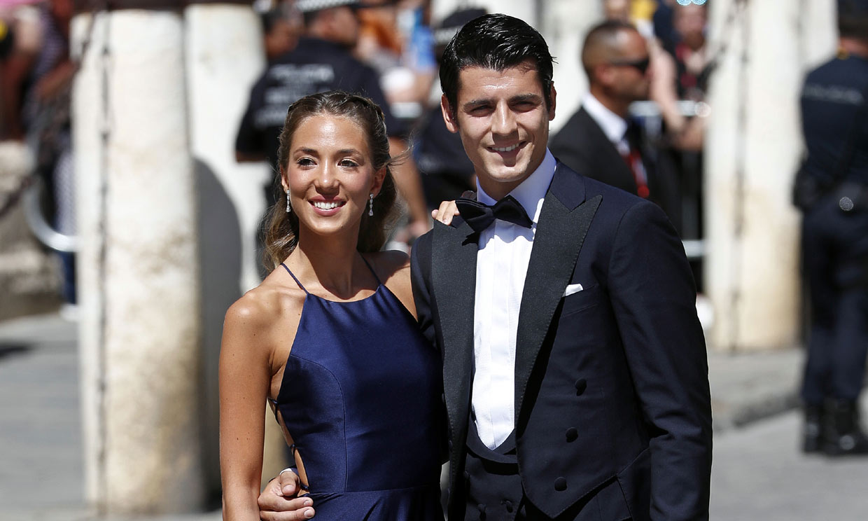 Alice Campello, el mayor apoyo de Morata en la Eurocopa que lo ha puesto en el punto de mira