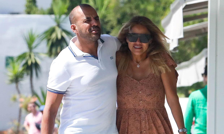 La romántica escapada de Mónica Hoyos a Ibiza con su nuevo amor