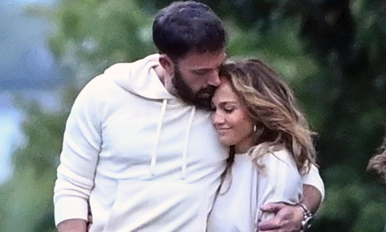 Complicidad y mucho amor en el paseo más romántico de Jennifer Lopez y Ben Affleck