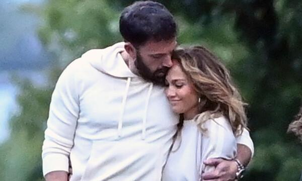 Jennifer Lopez y Ben Affleck, su paseo más romántico