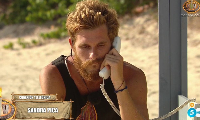 'Supervivientes': Tom hace la llamada a Sandra Pica y ella confirma que él le fue infiel