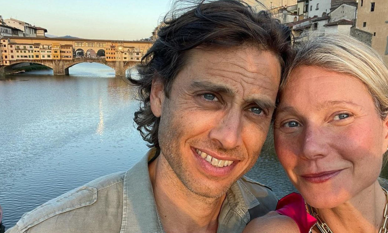 Gwyneth Paltrow y Brad Falchuk, dos turistas en Florencia... con escala en Barcelona de tapas