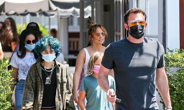 Jennifer López y Ben Affleck ya hacen planes en familia