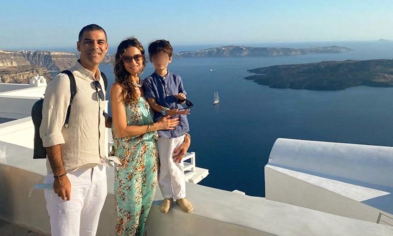¡Paseos en camello y espectaculares baños en Santorini! Las paradisíacas vacaciones de Jaydy Michel en familia