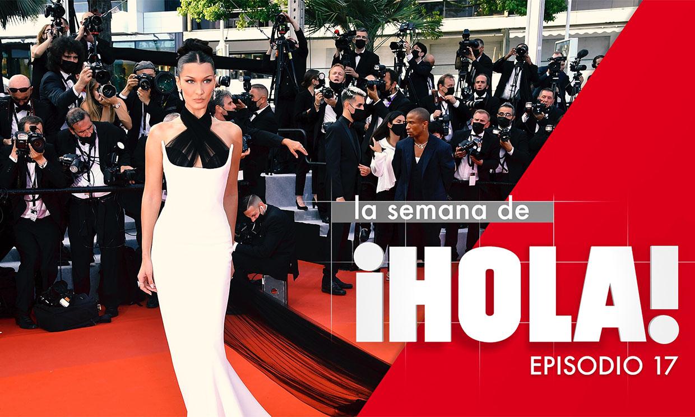 La alfombra roja del Festival de Cannes y la muerte de Raffaella Carrà, protagonistas de la semana en ¡HOLA!