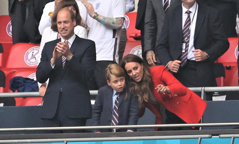 De George de Cambridge a los Beckham: estos son los mayores forofos de la Selección inglesa de fútbol