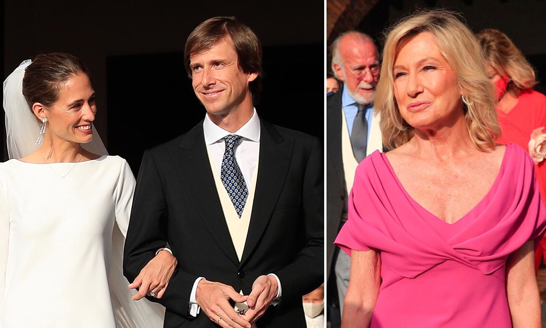 La emoción de la madrina, el humor de Colate y más anécdotas de la boda de Felipe Cortina y Amelia Millán