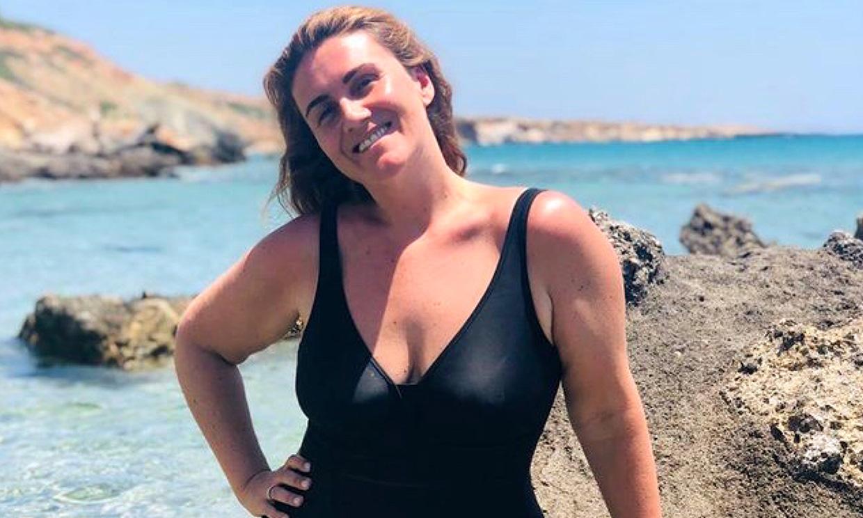 Carlota Corredera comparte su último chapuzón en el mar antes de regresar de las vacaciones