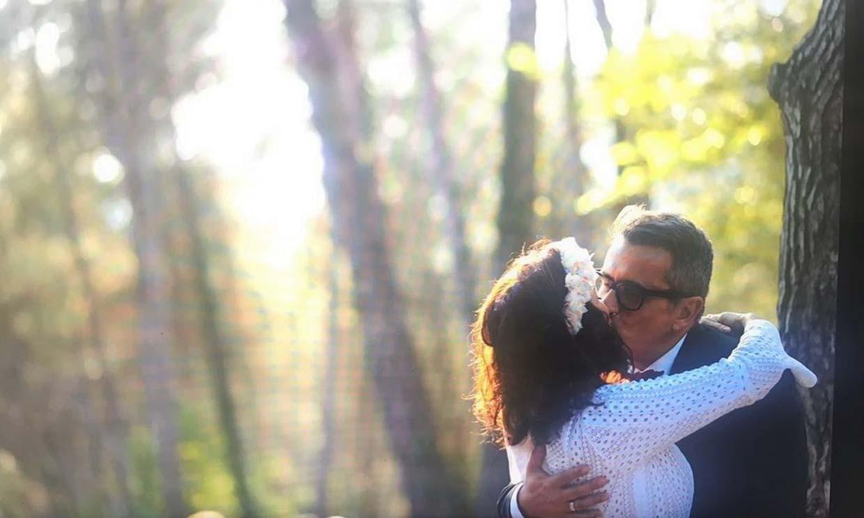 Silvia Abril comparte una foto inédita de su boda para celebrar su aniversario con Andreu Buenafuente