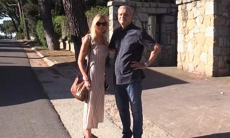 Tras conocerse su divorcio, Ramón García y Patricia Cerezo supervisan juntos la mudanza de la que ha sido su casa familiar