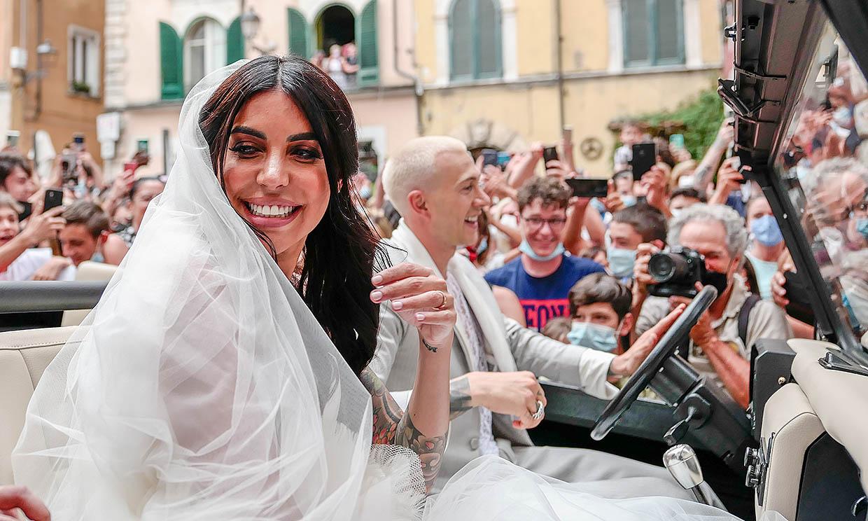 Del triunfo en la Eurocopa al altar: el futbolista Federico Bernardeschi se casa con Veronica Ciardi