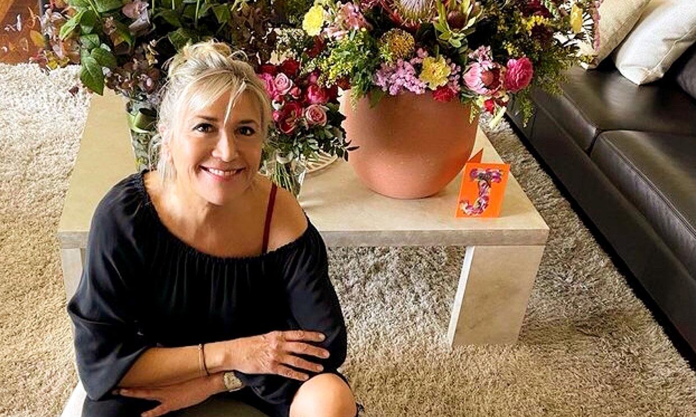 Con fuerza y llena de optimismo, así afronta Julia Otero su última sesión de quimioterapia