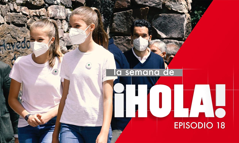 El primer acto oficial de Leonor y Sofía sin sus padres: el acontecimiento más destacado de la semana en ¡HOLA!