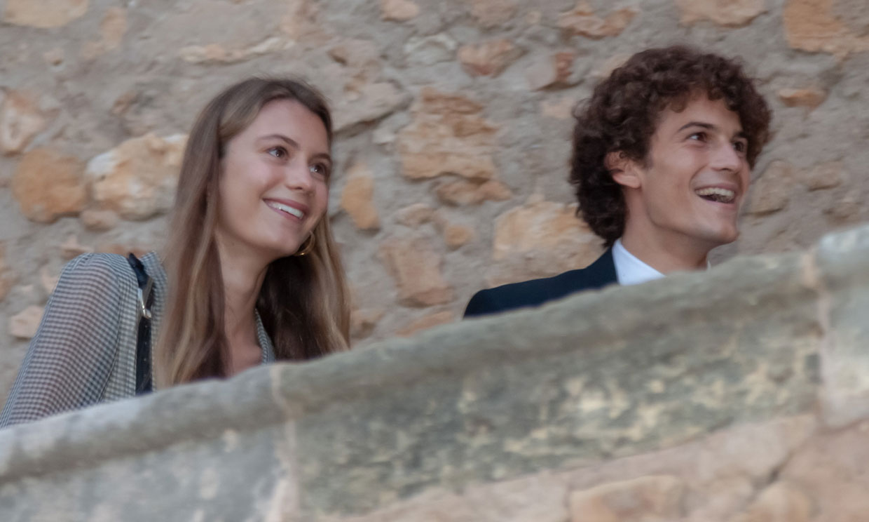 Martina Figo y su novio, Luis Osorio, de boda familiar en Tarragona