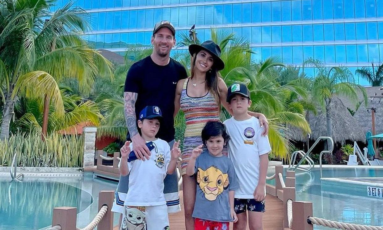 ¡Vacaciones en familia! Leo Messi desconecta en Miami mientras su futuro sigue en el aire