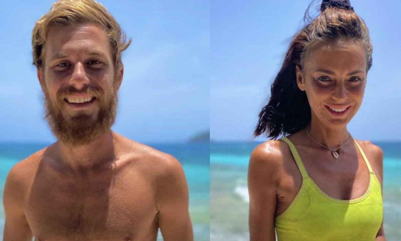 Olga Moreno y Tom Brusse, duelo de infarto para ser finalista de 'Supervivientes'