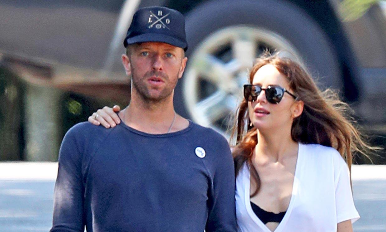 Chris Martin y Dakota Johnson disfrutan del verano en Mallorca