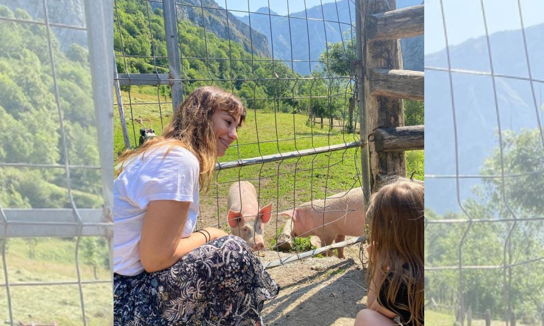 Las sorpresas de la escapada de Natalia Verbeke y Marcos Poggi con su hija Chiara