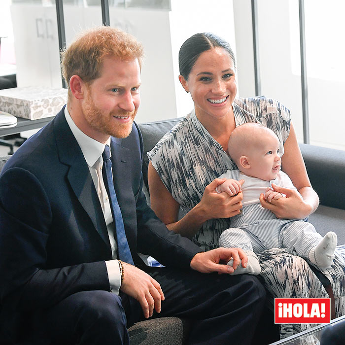 The Duke and Duchess of Sussex with Archie