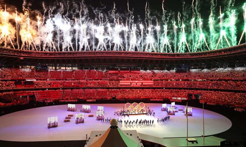 Juegos Olímpicos Tokio 2020: Las imágenes más espectaculares de una ceremonia atípica