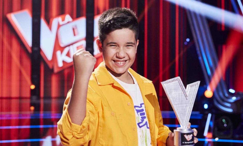 'La Voz Kids 2021' proclama como ganador a Levi Díaz