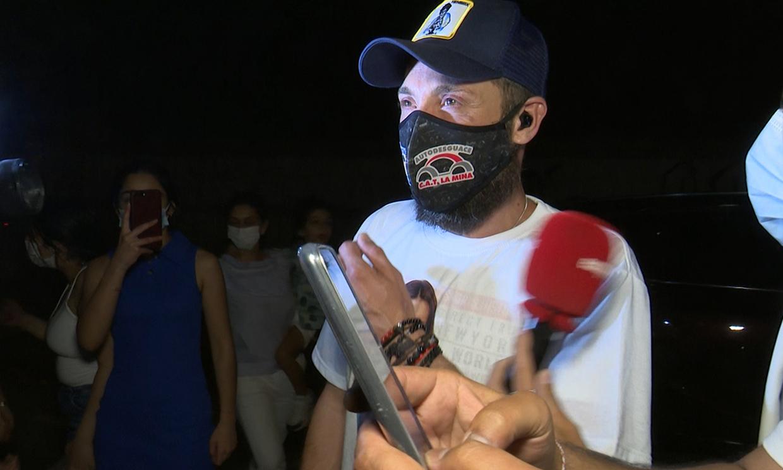 Las primeras palabras de un emocionado Antonio David tras la victoria de Olga Moreno en 'Supervivientes'