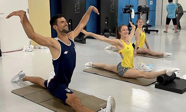 ¡Increíble! La foto de Novak Djokovic en los Juegos Olímpicos de Tokio que se ha hecho viral