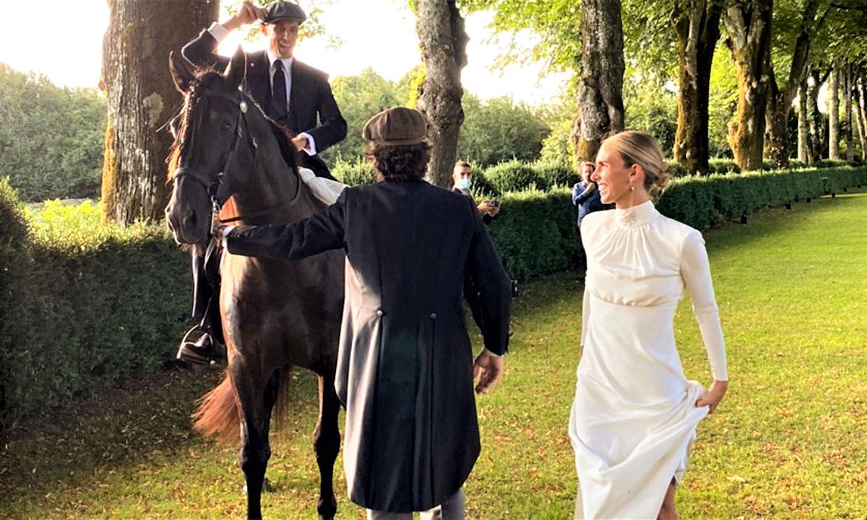 La gran sorpresa que dejó a todos los invitados sin palabras en la boda de Lucía Bárcena y Marco Juncadella