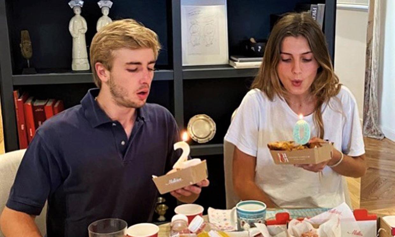 Amina y Luis Martínez de Irujo cumplen 20 años y lo celebran con una comida familiar junto a su madre