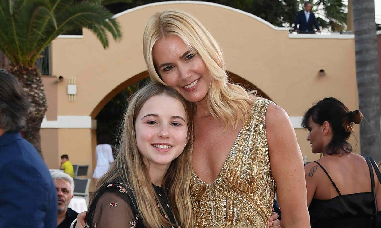 Valeria Mazza presume de su hija Taína, una 'peque' con mucho estilo a sus doce años