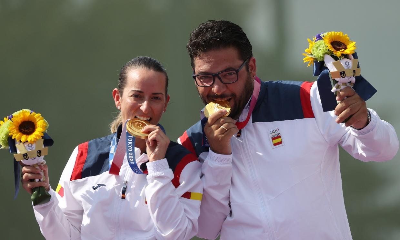 Así son Fátima Gálvez y Alberto Fernández, la enfermera y el músico que han dado a España el primer oro en Tokyo