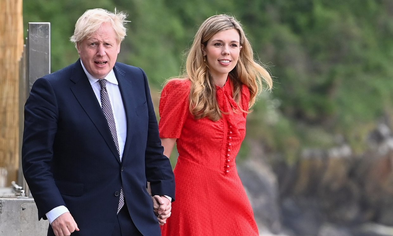 Boris Johnson y Carrie Symonds están esperando su segundo hijo en común