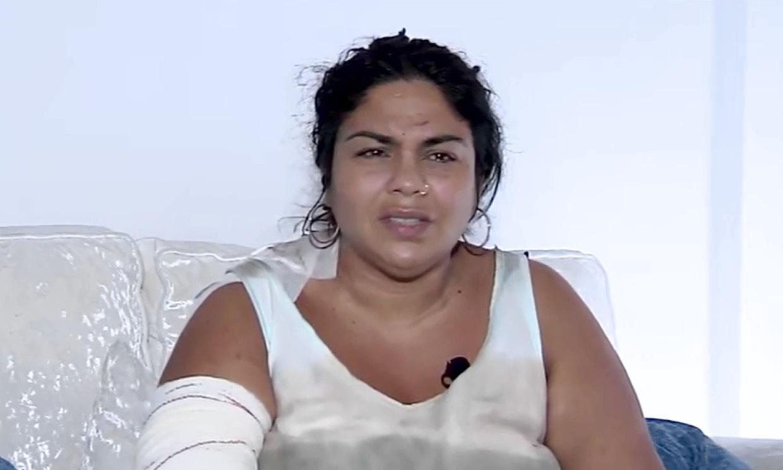Saray Montoya, exconcursante de 'Supervivientes', denuncia haber sido apuñalada por unos familiares
