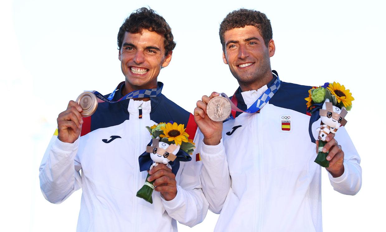 Jordi Xammar y Nico Rodríguez, el administrativo y el odontólogo que han ganado la décima medalla olímpica para España
