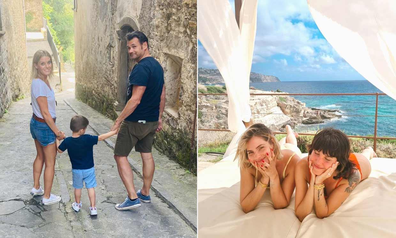 ¿Playa, montaña o ciudad? Así están pasando nuestras 'celebrities' sus vacaciones