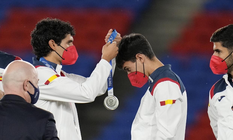 La selección española de fútbol se corona con la plata en Tokio 2020