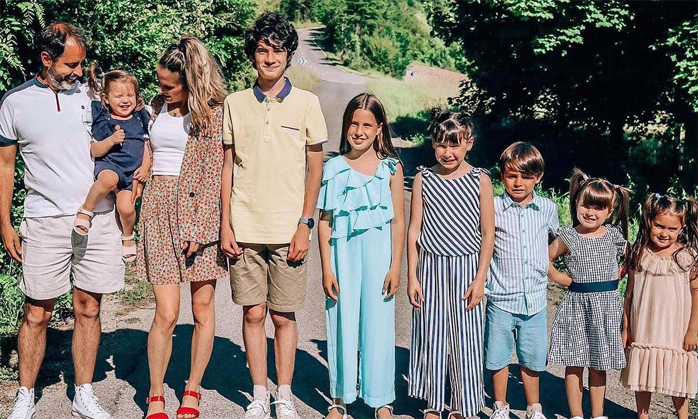 Conoce a la familia de nueve de Verdeliss que está a punto de ampliarse