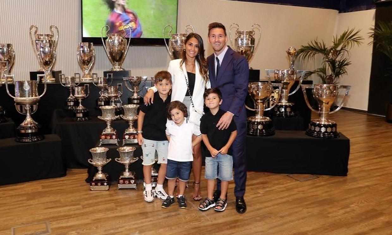 El significativo mensaje de Antonela Roccuzzo tras las triste despedida de Messi