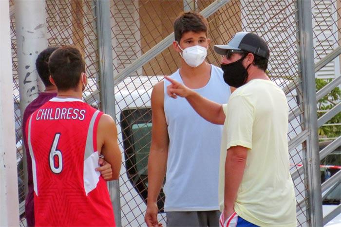 Adam Sandler causes a sensation in Palma de Mallorca