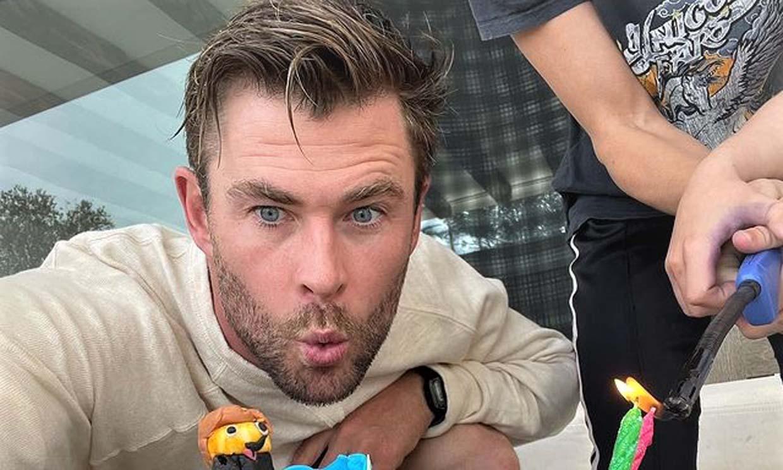 El regalo de los hijos de Chris Hemsworth que le ha dejado con la boca abierta