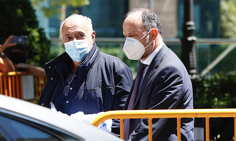 La Policía mantuvo intervenidos los teléfonos de José Luis Moreno hasta 15 días después de su detención