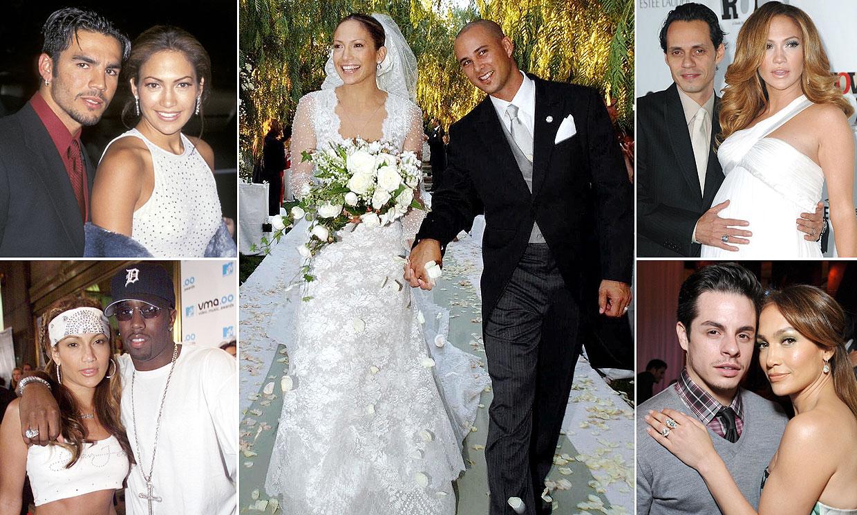 Los amores de Jennifer Lopez: recordamos una a una todas sus parejas