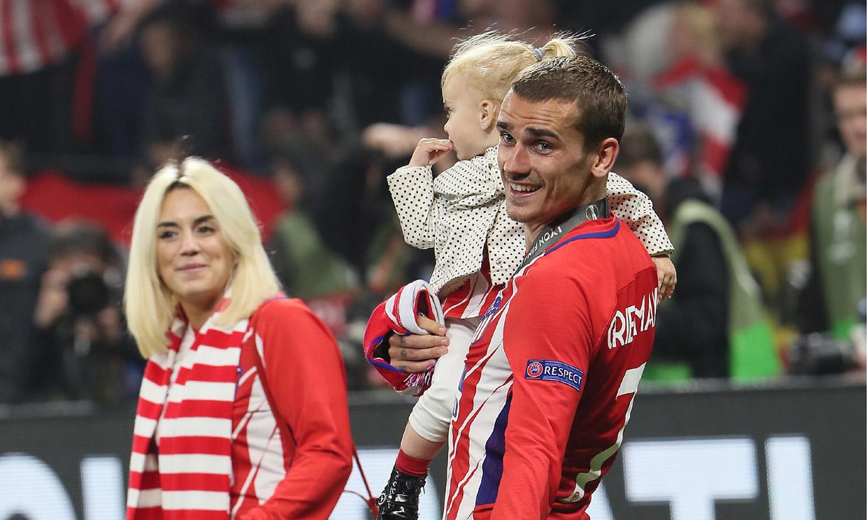 Antoine Griezmann vuelve al Atlético de Madrid: así es la familia que ha formado con Erika Choperena