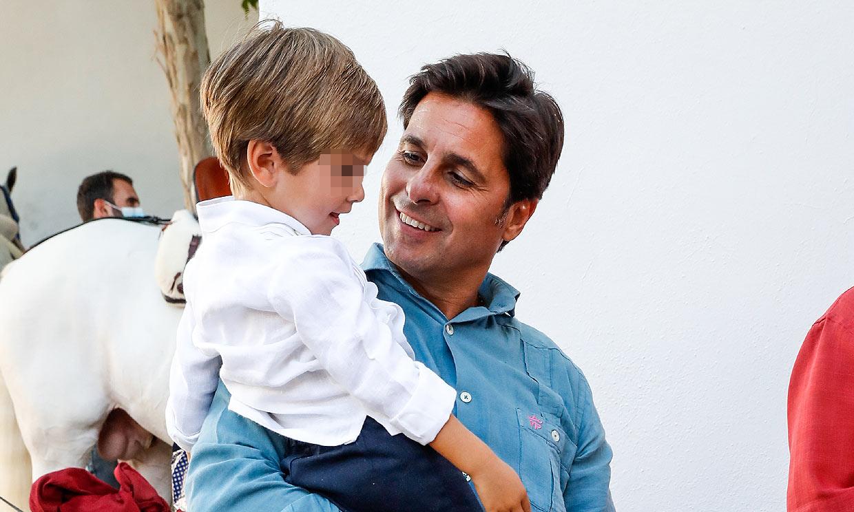 Francisco Rivera, un padre orgulloso en los festejos previos a la Goyesca